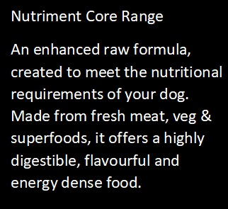 Nutriment Core Range